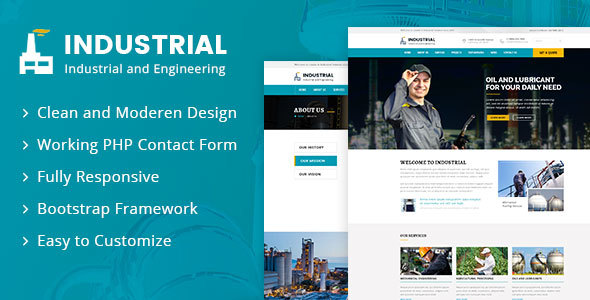 Industrial – Industrial And Engineering HTML Template