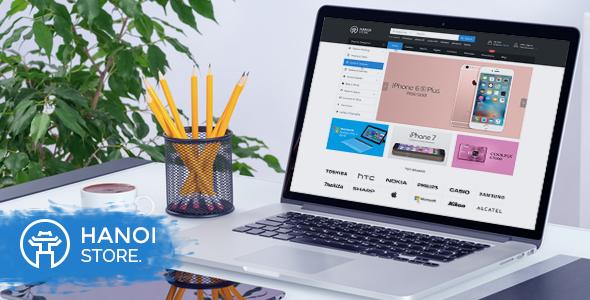 HanoiStore – Supermarket eCommerce PSD Template