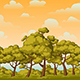 Parallax Background for Games with Trees - GraphicRiver Item for Sale