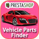 Prestashop Car/Parts Filter Plugin