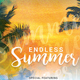 Endless Summer party flyer template - GraphicRiver Item for Sale
