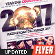High Impact New Year's Eve Countdown Flyer/Poster - GraphicRiver Item for Sale