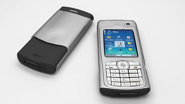 Nokia N70  - 3DOcean Item for Sale