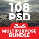 Bundle Multipurpose Banners Ads - 108 PSD [06 Sets] - GraphicRiver Item for Sale