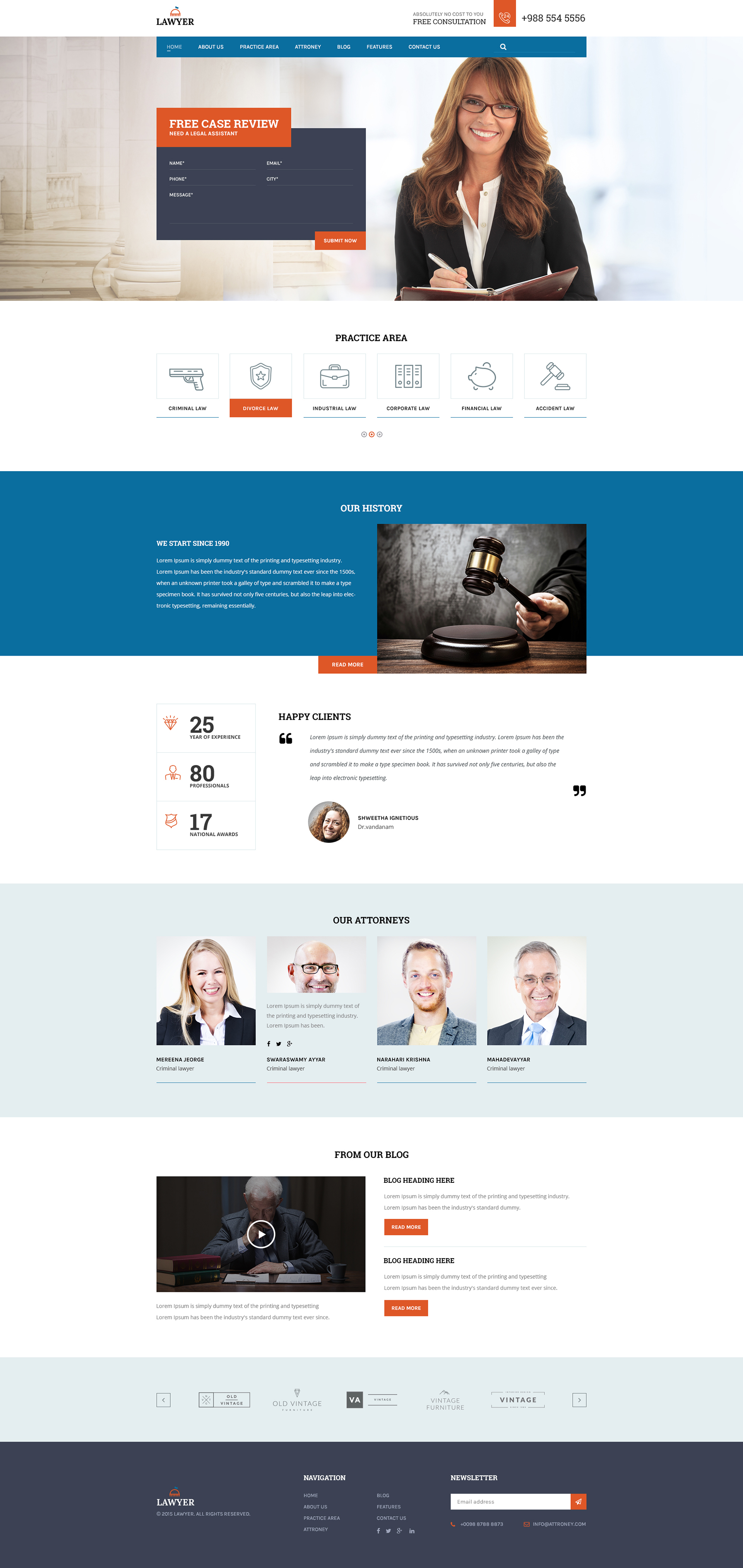 A Lawyer Lawyers Html Template By Thewebdeals ThemeForest - Lawyer website template