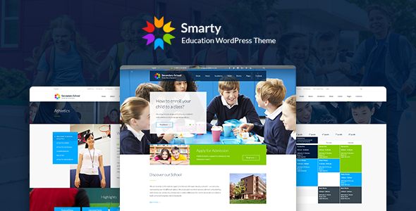 Smarty – Learning & Education WordPress Theme