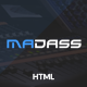 Madass - Music Industry HTML Template - ThemeForest Item for Sale