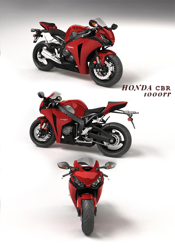 Honda CBR 1000rr - 3DOcean Item for Sale