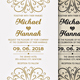 Simple & Vintage Wedding Invitation - GraphicRiver Item for Sale