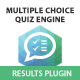 Multiple Choice Quiz Engine - Results Plugin - CodeCanyon Item for Sale