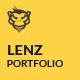 Lenz - Creative Photography Template Nulled
