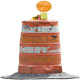 Traffic Safety Construction Drum - GraphicRiver Item for Sale