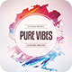 Pure Vibes CD Cover Artwork - GraphicRiver Item for Sale