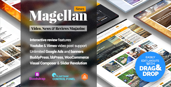 Magellan - Video News & Reviews Magazine - News / Editorial Blog / Magazine