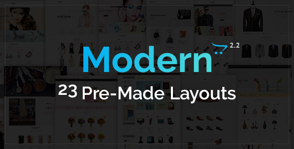 Modern – Opencart Multi Purpose Responsive Theme