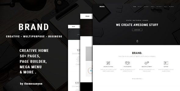 Brand – Multipurpose Business Template