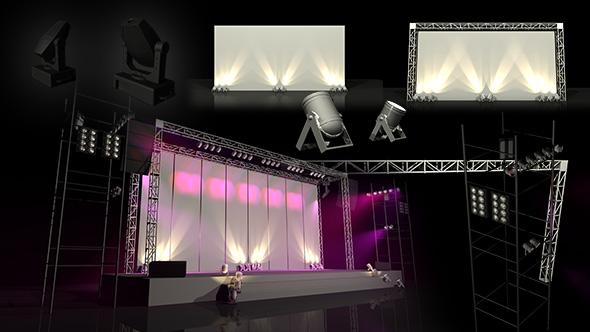 Backdrop Presentation Package - 3DOcean Item for Sale