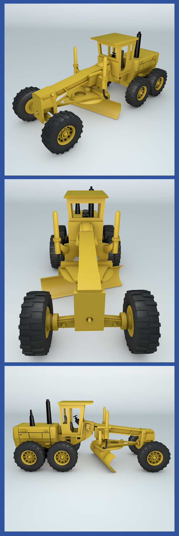 Grader - 3DOcean Item for Sale