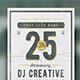 Anniversary Flyer-Graphicriver中文最全的素材分享平台