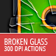 Broken Glass - Photoshop Actions - GraphicRiver Item for Sale