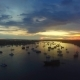 Aerial View Of Bali At Sunset - VideoHive Item for Sale