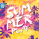 Summer Play Flyer Template-Graphicriver中文最全的素材分享平台