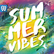 Summer Vibes Flyer Template-Graphicriver中文最全的素材分享平台