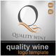 Quality wine logo  - GraphicRiver Item for Sale