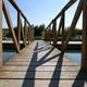 Walking Across the Wooden Bridge till the Pier - VideoHive Item for Sale