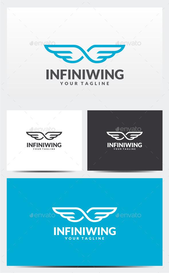 Infinity Wing Logo - Symbols Logo Templates