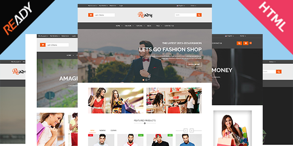 Ready- eCommerce Bootstrap HTML5 Template - Retail Site Templates