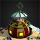 Caribbean Dome - 3DOcean Item for Sale