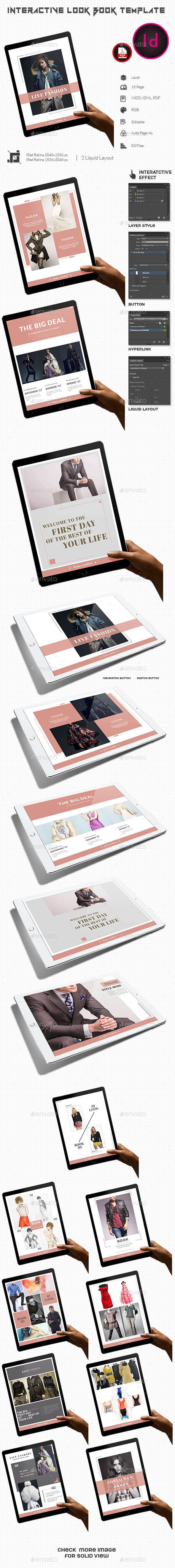 Interactive Look Book Template  - ePublishing