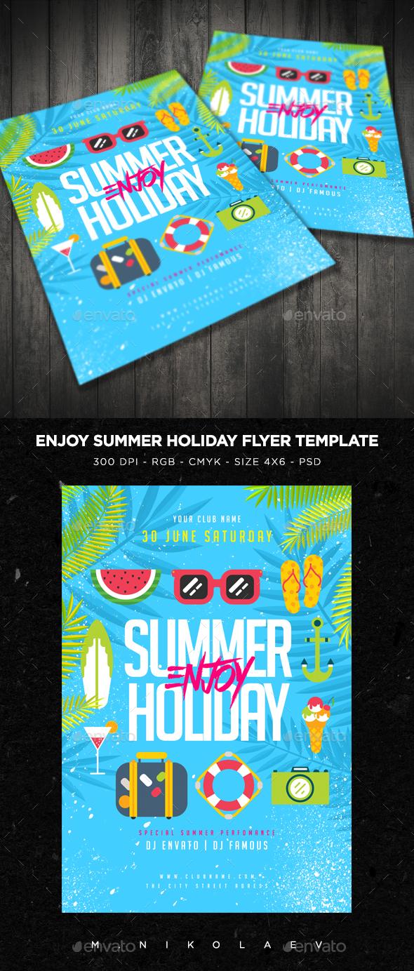 Enjoy Summer Holiday Flyer