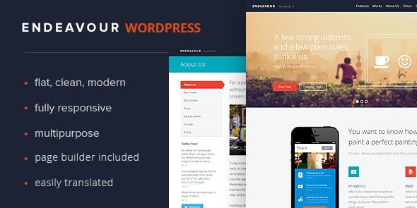 Endeavour - Multipurpose Business Portfolio - Corporate WordPress