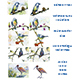 Birds on trees (Watercolor and Ink, Vector and Raster) - GraphicRiver Item for Sale