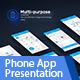Phone App Presentation Template - VideoHive Item for Sale