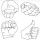 9 Vector Hands Illustrations - GraphicRiver Item for Sale