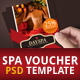 Spa Voucher Invitation - GraphicRiver Item for Sale