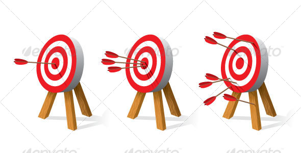 Archery Targets - Man-made Objects Objects