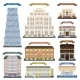 Hotel Buildings - GraphicRiver Item for Sale