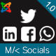 MK Socials - Open Graph and Social sharing for Joomla! - CodeCanyon Item for Sale