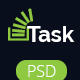 Task-Corporate Business PSD Theme Nulled