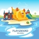 Inflatable Castles Playground - GraphicRiver Item for Sale