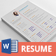 CV Resume - GraphicRiver Item for Sale