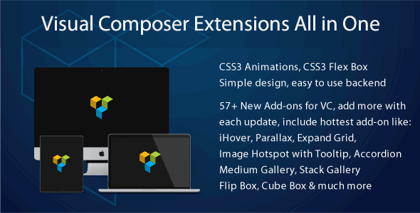 Visual Composer Extensions Addon All in One - CodeCanyon Item for Sale