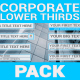Corporate Lower Thirds & Elements Pack - VideoHive Item for Sale