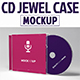 CD Jewel Case Mockup - GraphicRiver Item for Sale