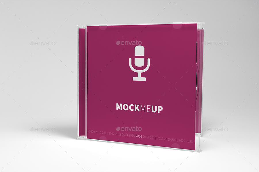 CD Jewel Case Mockup by krzysztofbobrowicz   GraphicRiver