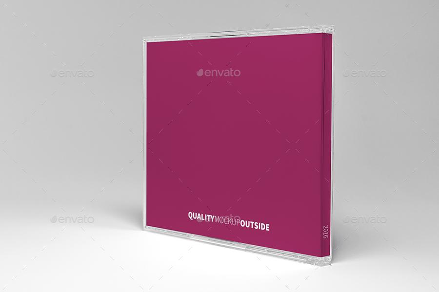 CD Jewel Case Mockup by krzysztofbobrowicz | GraphicRiver